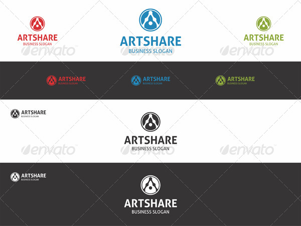 Art Share - Logo A