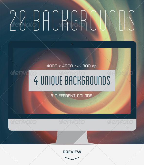 GraphicRiver 20 Dreamy Backgrounds V.02 6036720