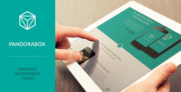 PandoraBox - Best Responsive OnePage Software WordPress Template