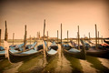 Parked gondolas in Venice, Italy - PhotoDune Item for Sale