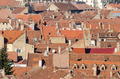 View From Above Of Medieval Tiled Roofs - PhotoDune Item for Sale