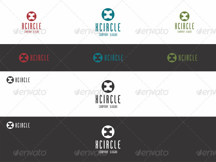 X Circle Logo