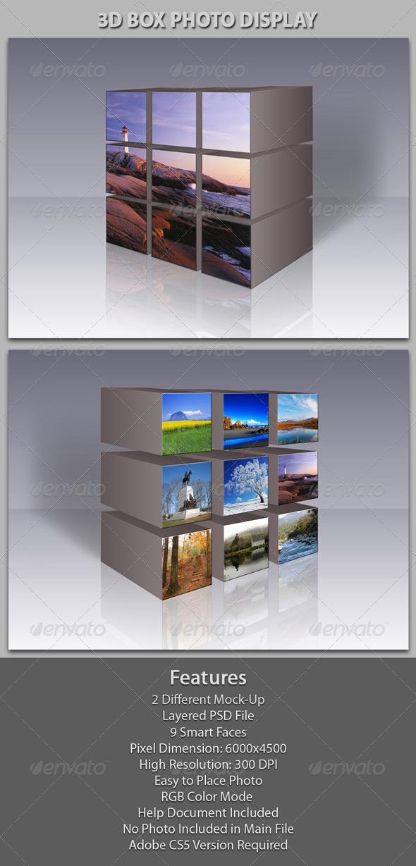 GraphicRiver 3D Box Photo Gallery 6037674