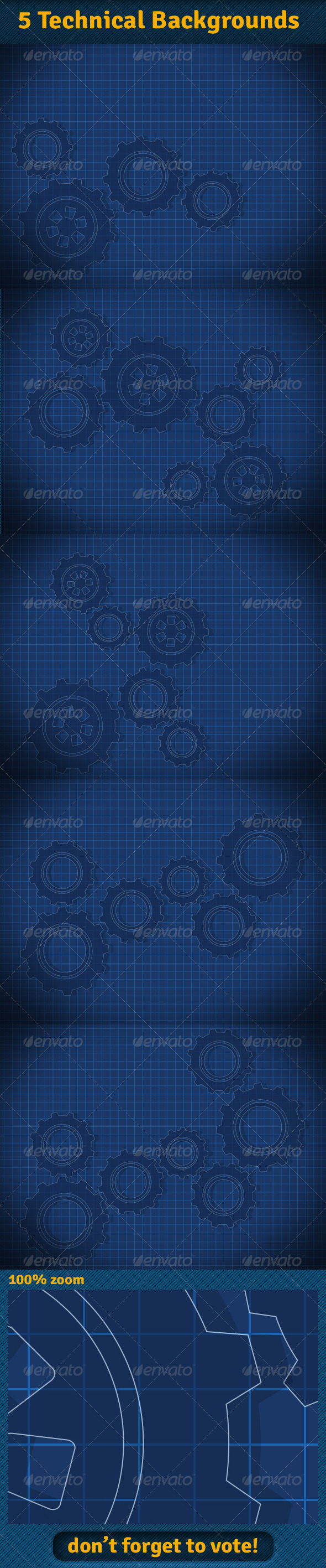 GraphicRiver Technical Backgrounds 6037807