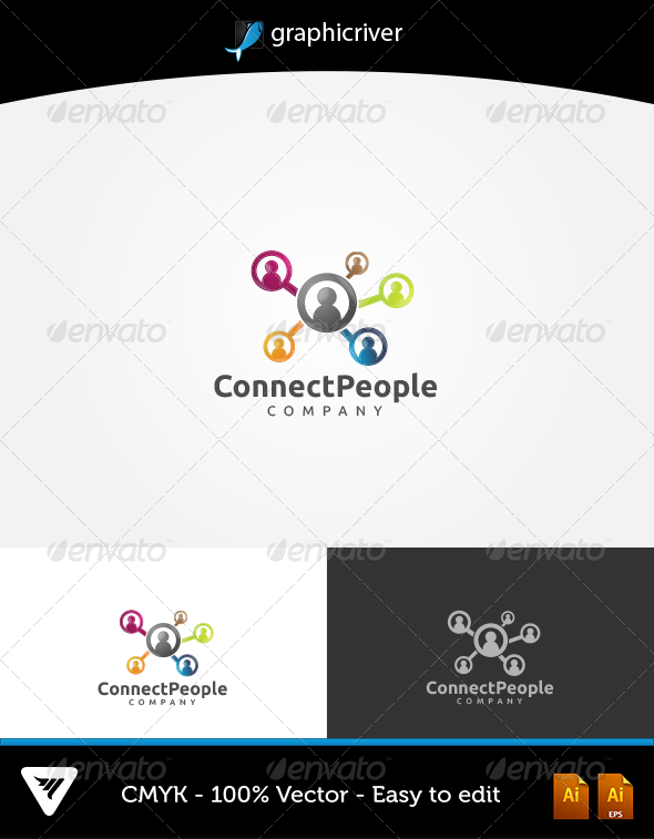 GraphicRiver Connect People 6037867