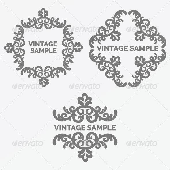 GraphicRiver Vintage Frame 67 6037889