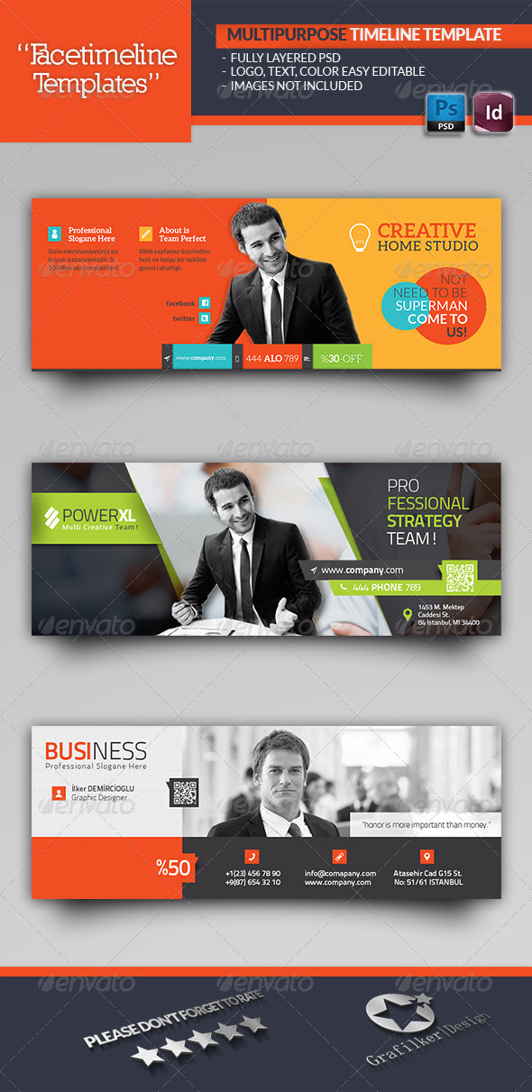 GraphicRiver Multipurpose Timeline Template 6036622