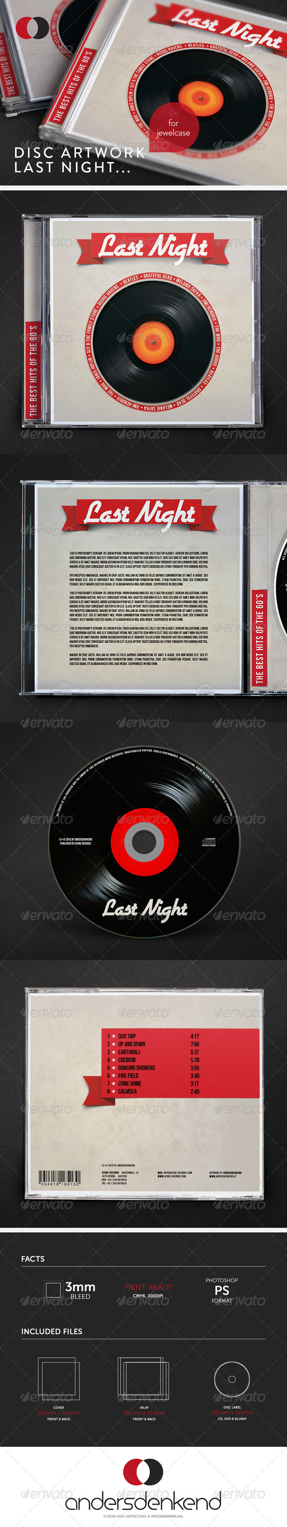 GraphicRiver Disc Artwork Last Night.. 6038694