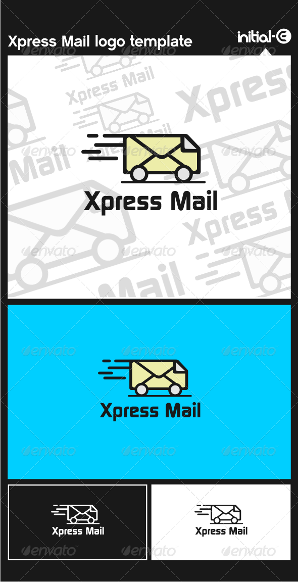 GraphicRiver Xpress Mail Logo Template 6038853