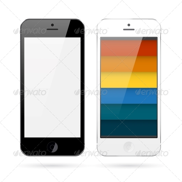 GraphicRiver Realistic Smart Phones 6038962
