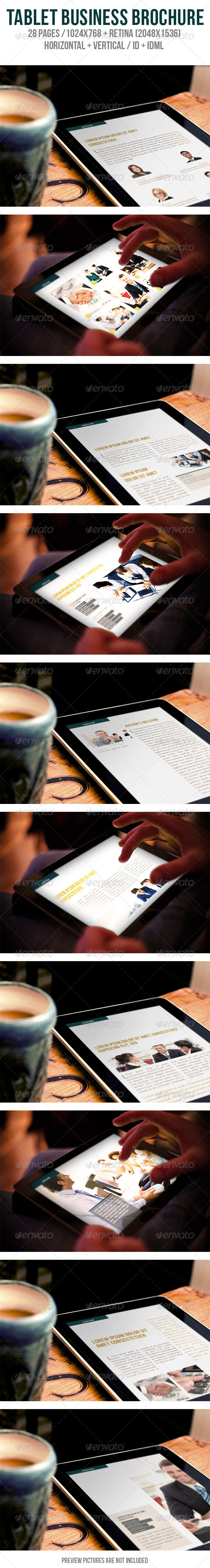GraphicRiver Tablet Business Brochure 6039096