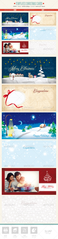 GraphicRiver Templates Christmas Cards 6039169