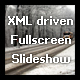 XML driven Fullscreen Slideshow - ActiveDen Item for Sale