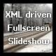 XML driven Fullscreen Slideshow - ActiveDen Item for Sale