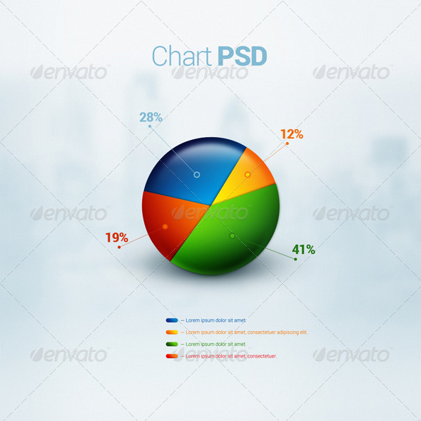 GraphicRiver Business Chart PSD 6040334