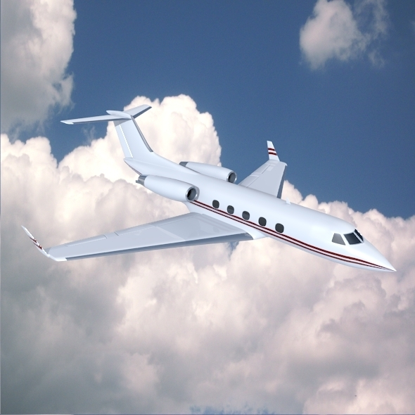 Gulfstream Aerospace G-1159A business jet - 3DOcean Item for Sale