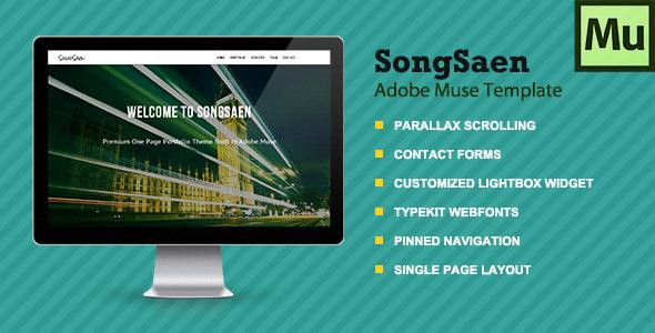 SongSaen | Parallax Muse Template