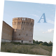 Panorama With Old Fortress Tower - VideoHive Item for Sale