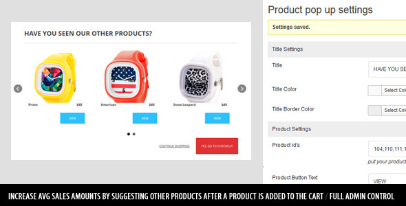 CodeCanyon WooCom Add To Cart Pop Up Modal Product Suggestor 5990253