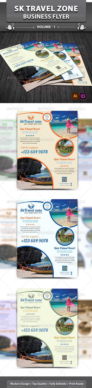 GraphicRiver Sk Travel Zone Business Flyer v1 6042021