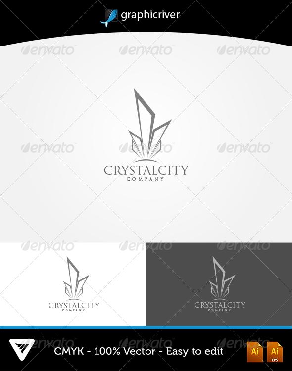 GraphicRiver CrystalCity Logo 6042577