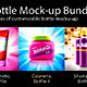 Bottle Mock-up Bundle - GraphicRiver Item for Sale