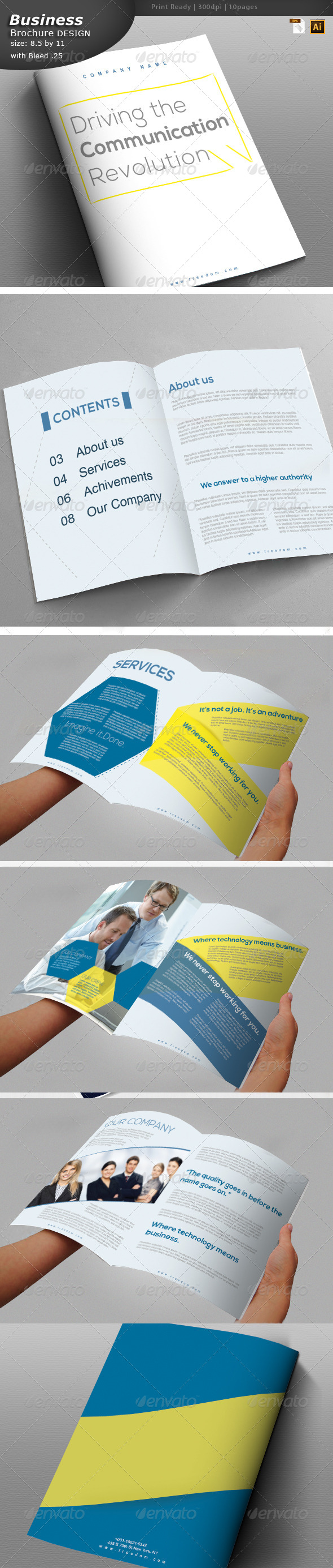 GraphicRiver Business Brochure 6042991