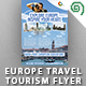 Europe Travel Tourism Flyer - GraphicRiver Item for Sale