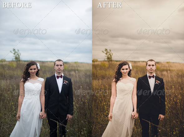 GraphicRiver Warm Wedding Lightroom Professional Preset 6043147