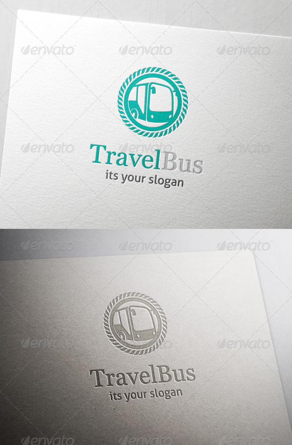 Travels Bus Travel Bus Logo Symbols Logo