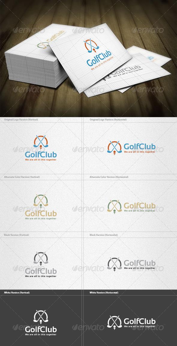 GraphicRiver Golf Club Logo 6044780