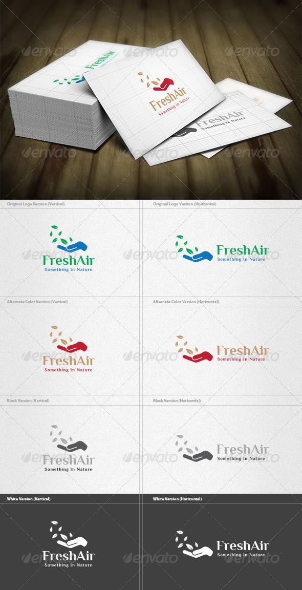GraphicRiver Fresh Air Logo 6044821