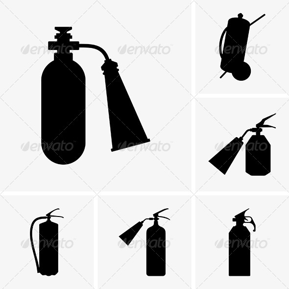 GraphicRiver Fire Extinguishers 6044881