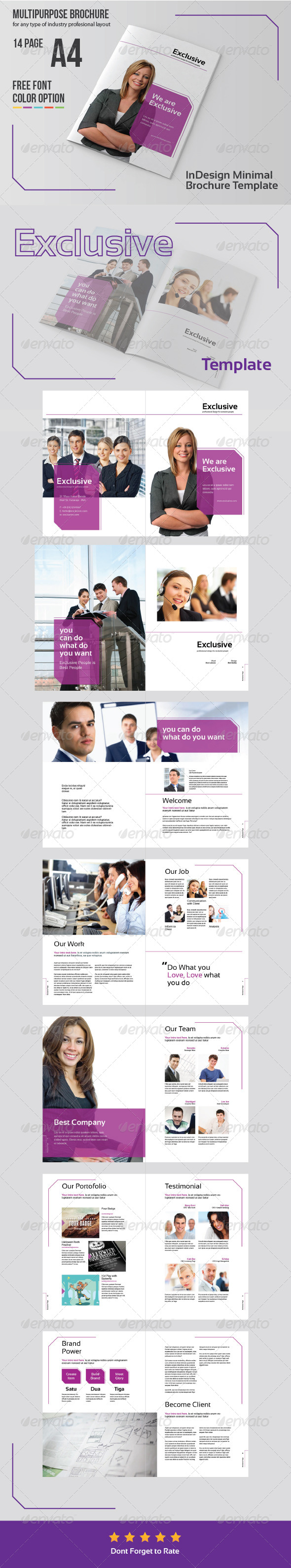 GraphicRiver Multipurpose Business Brochure Template 6045272