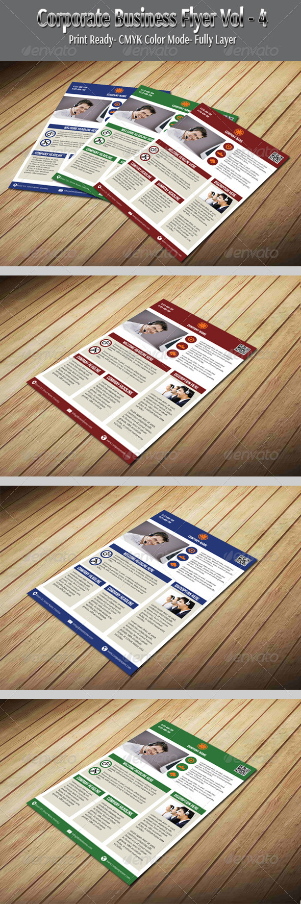 GraphicRiver Corporate Business Flyer Vol-4 6035824
