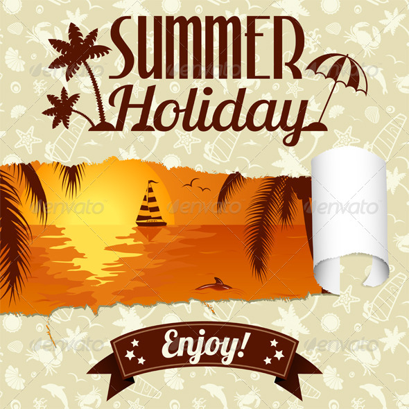 GraphicRiver Summer Poster 6045573