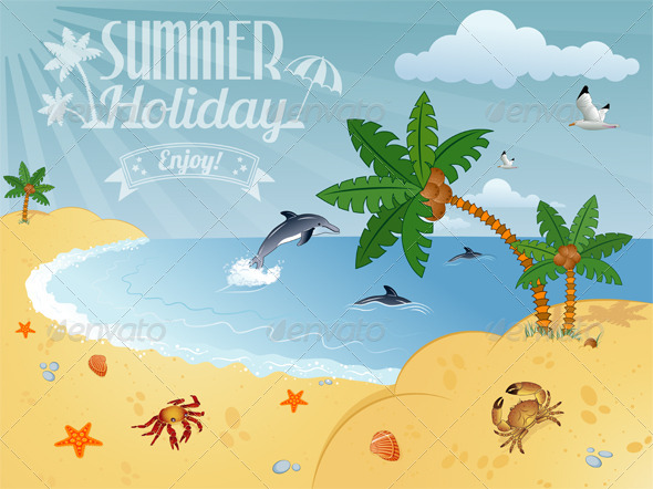 GraphicRiver Summer Poster 6045577
