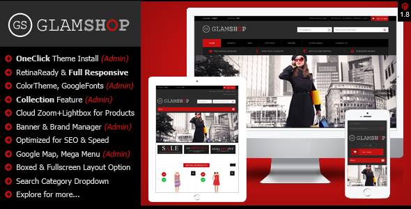 a.  large preview - Glamshop - Responsive & Retina Ready Magento Theme