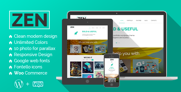 ThemeForest ZEN Creative Multipurpose WordPress Theme 6046008