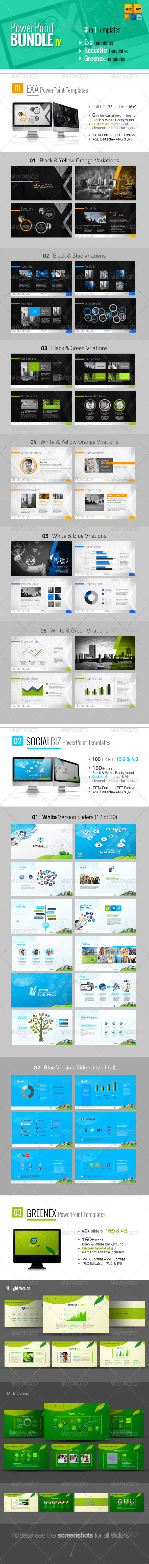 GraphicRiver PowerPoint Templates Bundle IV 6046468