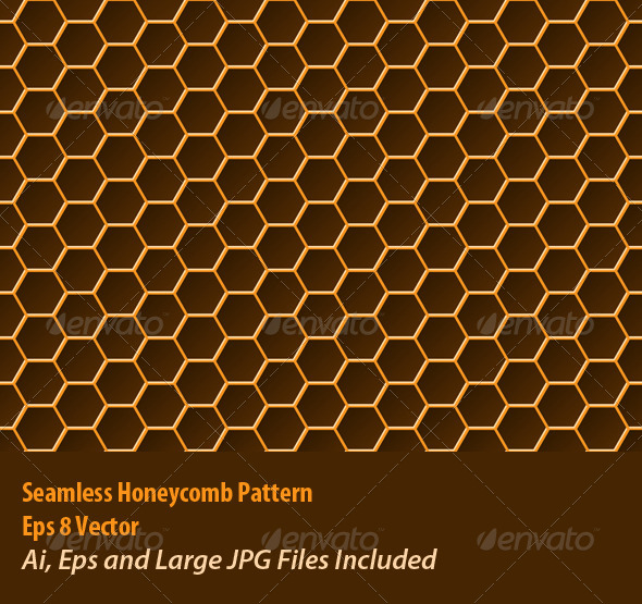 GraphicRiver Honeycomb Pattern 5989125