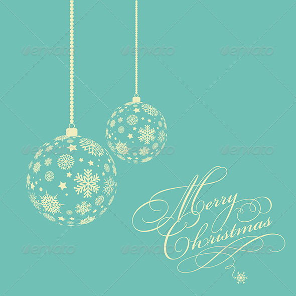 GraphicRiver Christmas Baubles 6046725