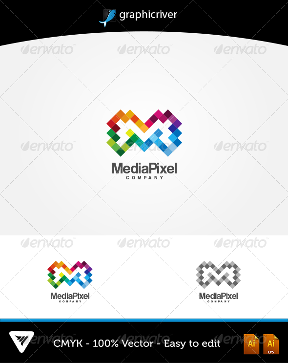 GraphicRiver MediaPixel Logo 6046764