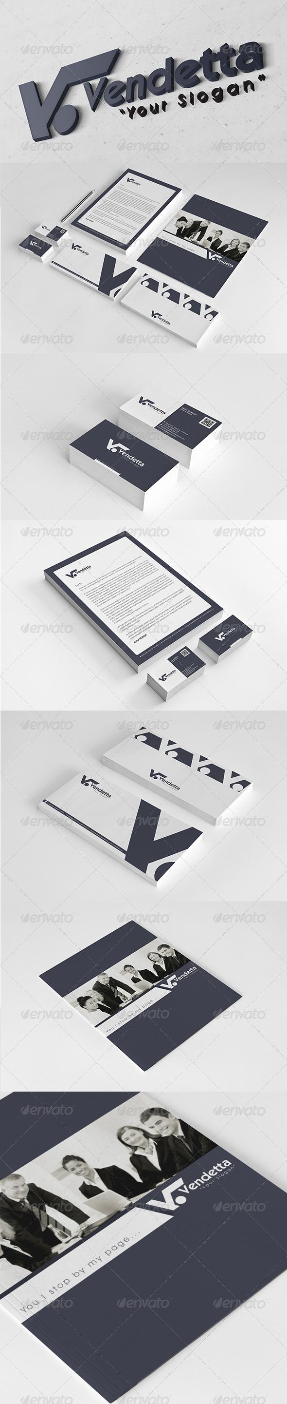 GraphicRiver Vendetta Corporate Identity Package 6041610