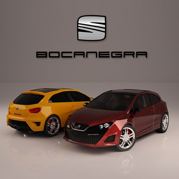 Seat Ibiza BOCANEGRA - 3DOcean Item for Sale