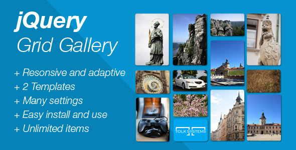 CodeCanyon jQuery Responsive Grid Gallery 6047018