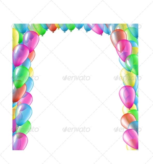 GraphicRiver Balloon Arc 6047331