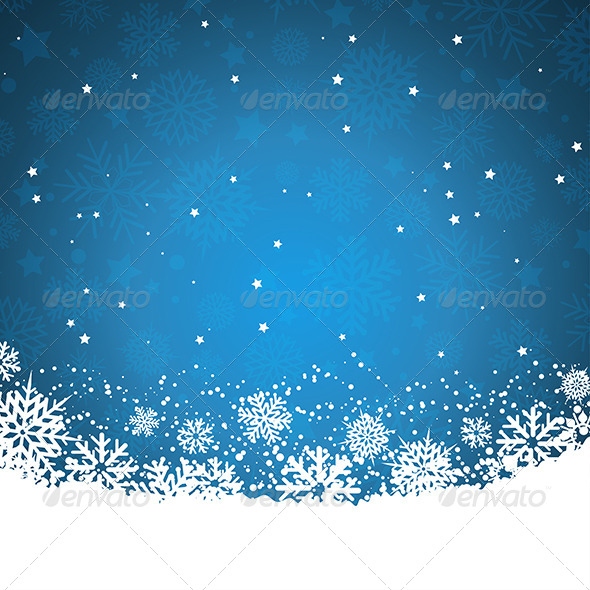 GraphicRiver Snowflakes and Stars 6047373