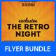 Retro Party Flyer Bundle - GraphicRiver Item for Sale