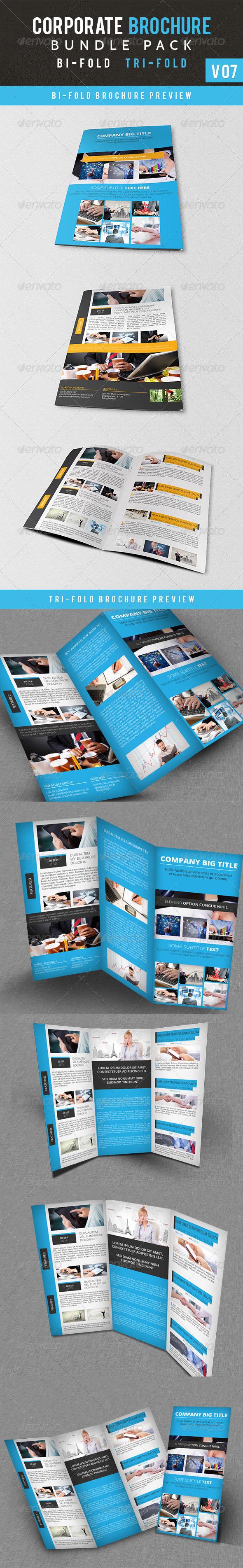 GraphicRiver Corporate Brochure Bundle Pack V 07 6048291
